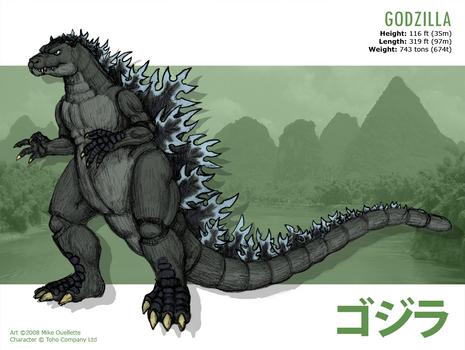 Godzilla by CyRaptor