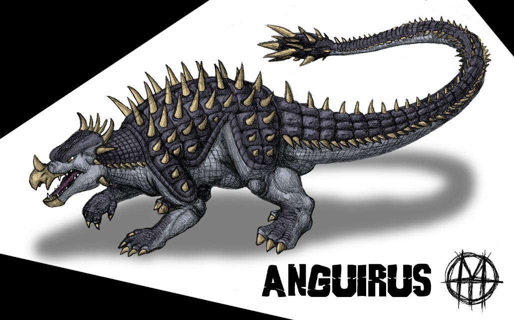 Anguirus v.1 by CyRaptor