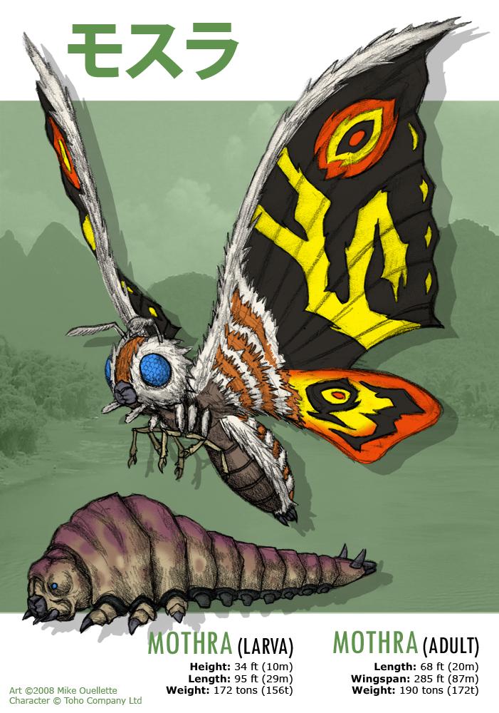 Mothra by CyRaptor on DeviantArt