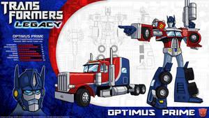 Transformers Legacy: Optimus Prime