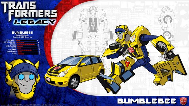 Transformers Legacy: Bumblebee