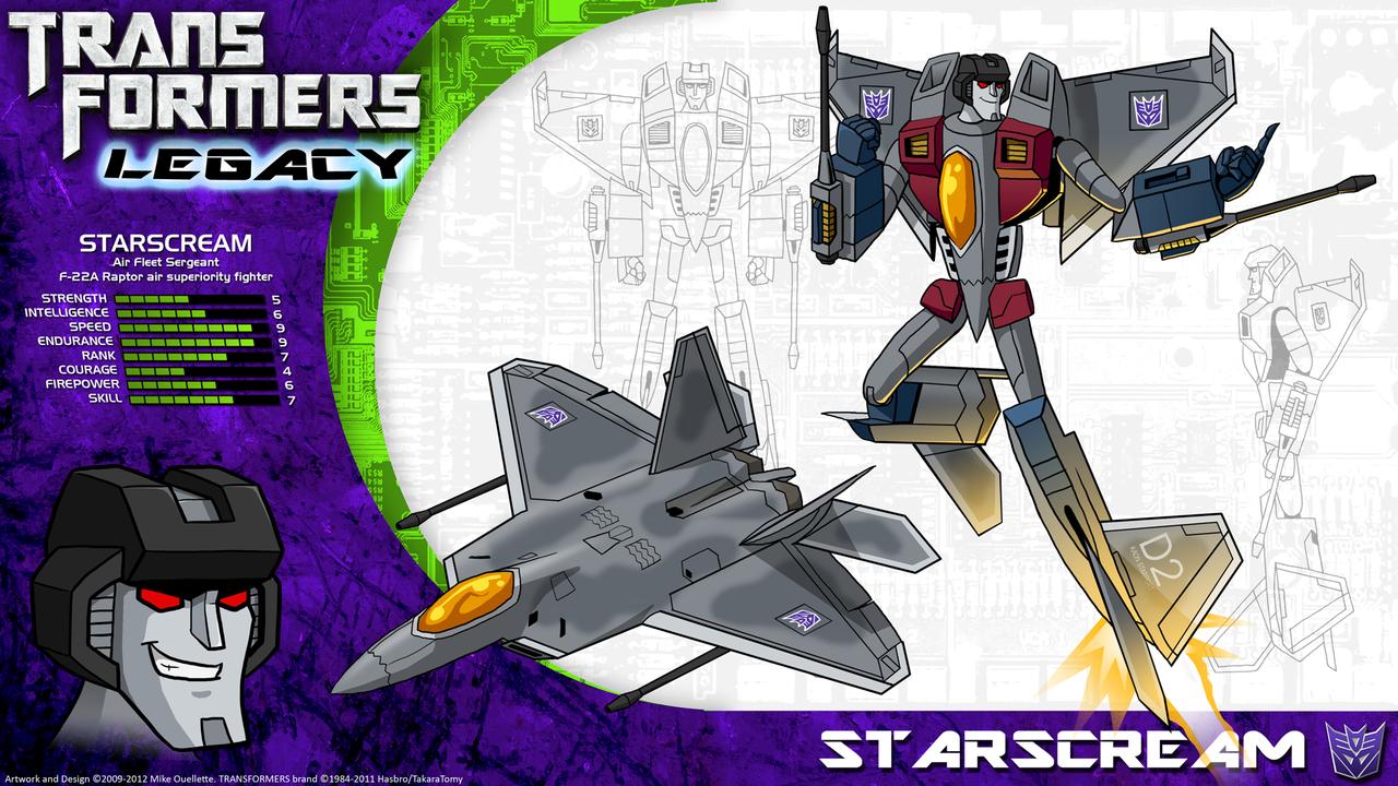Transformers Legacy: Starscream by CyRaptor
