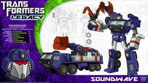 Transformers Legacy: Soundwave