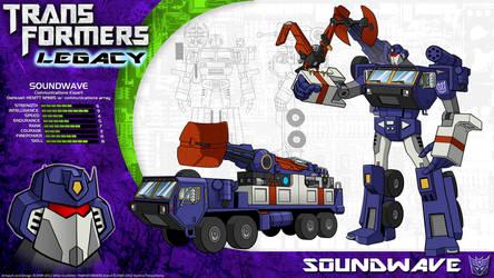 Transformers Legacy: Soundwave by CyRaptor