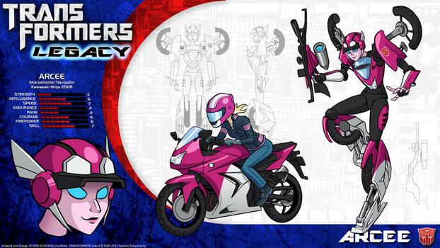 Transformers Legacy: Arcee by CyRaptor