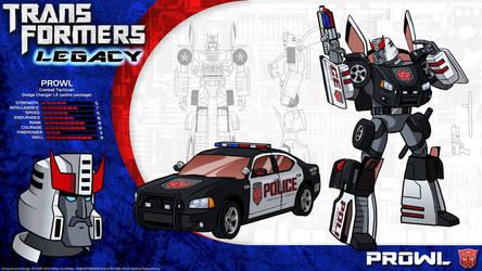 Transformers Legacy: Prowl by CyRaptor