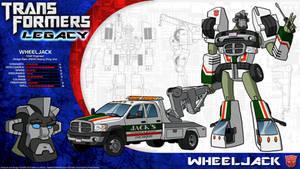 Transformers Legacy: Wheeljack