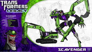 Transformers Legacy: Scavenger by CyRaptor