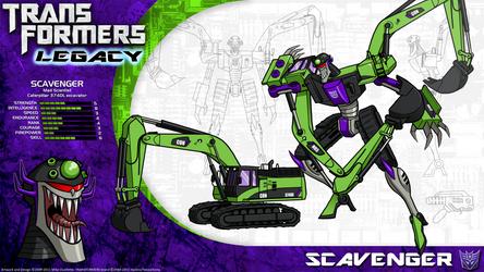 Transformers Legacy: Scavenger