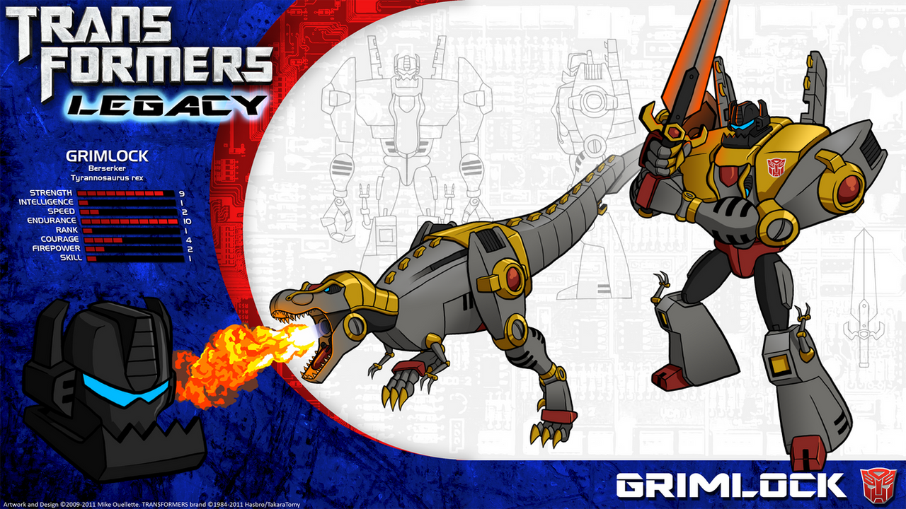 Transformers Legacy: Grimlock by CyRaptor on DeviantArtTransformers Prime Perceptor