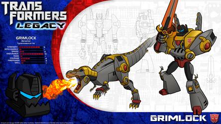 Transformers Legacy: Grimlock by CyRaptor