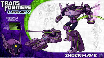 Transformers Legacy: Shockwave by CyRaptor