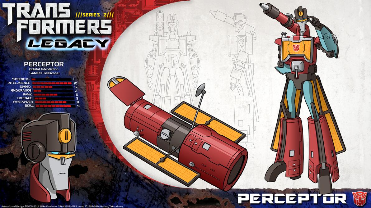 Transformers Legacy: Perceptor by CyRaptor