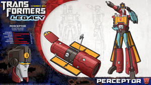 Transformers Legacy: Perceptor
