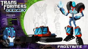 Transformers Legacy: Frostbite by CyRaptor