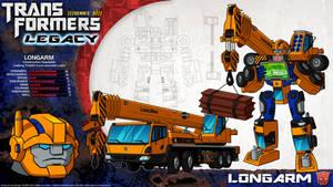 Transformers Legacy: Longarm
