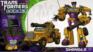 Transformers Legacy: Swindle