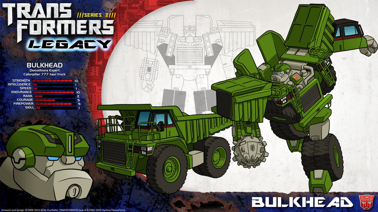 Transformers Legacy  Bulkhead by CyRaptorBulkhead Transformers G1