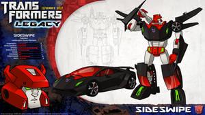 Transformers Legacy: Sideswipe by CyRaptor