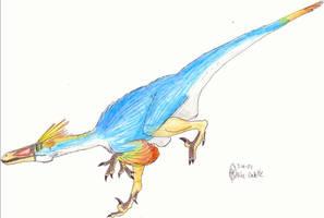 Troodon formosus by CyRaptor