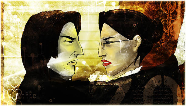Snape and McGonagall