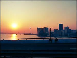 Sunset Over Macau