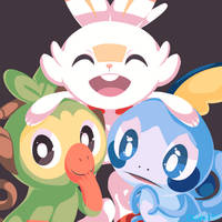 Galar Buddies by Dannaria