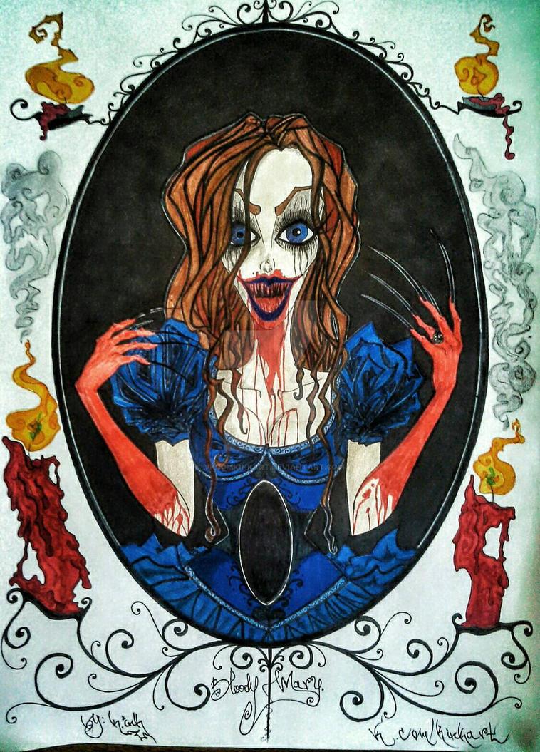 Bloody Alice by K.inkArt  by VkComKinkArt