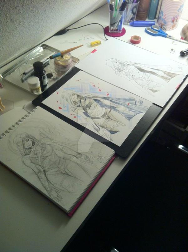 Assassins Creed Fan Art female Character - 01 by anya-penpics