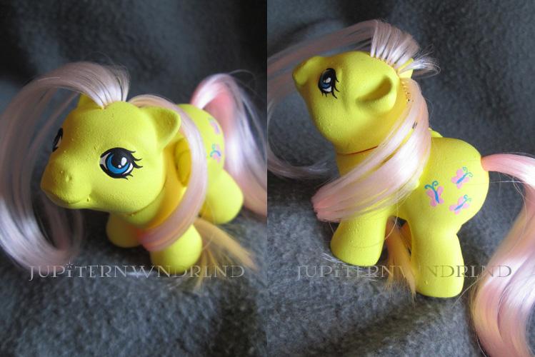 Fluttershy G1 Baby by jupiternwndrlnd