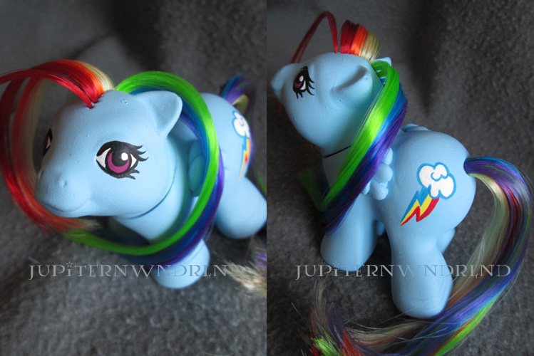 Rainbow Dash G1 Baby by jupiternwndrlnd