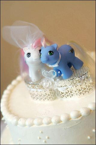 MLP Cake Topper Groom by jupiternwndrlnd
