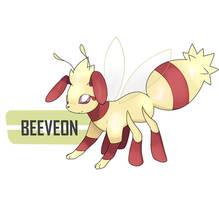 Beeveon by Wabatte-Meru