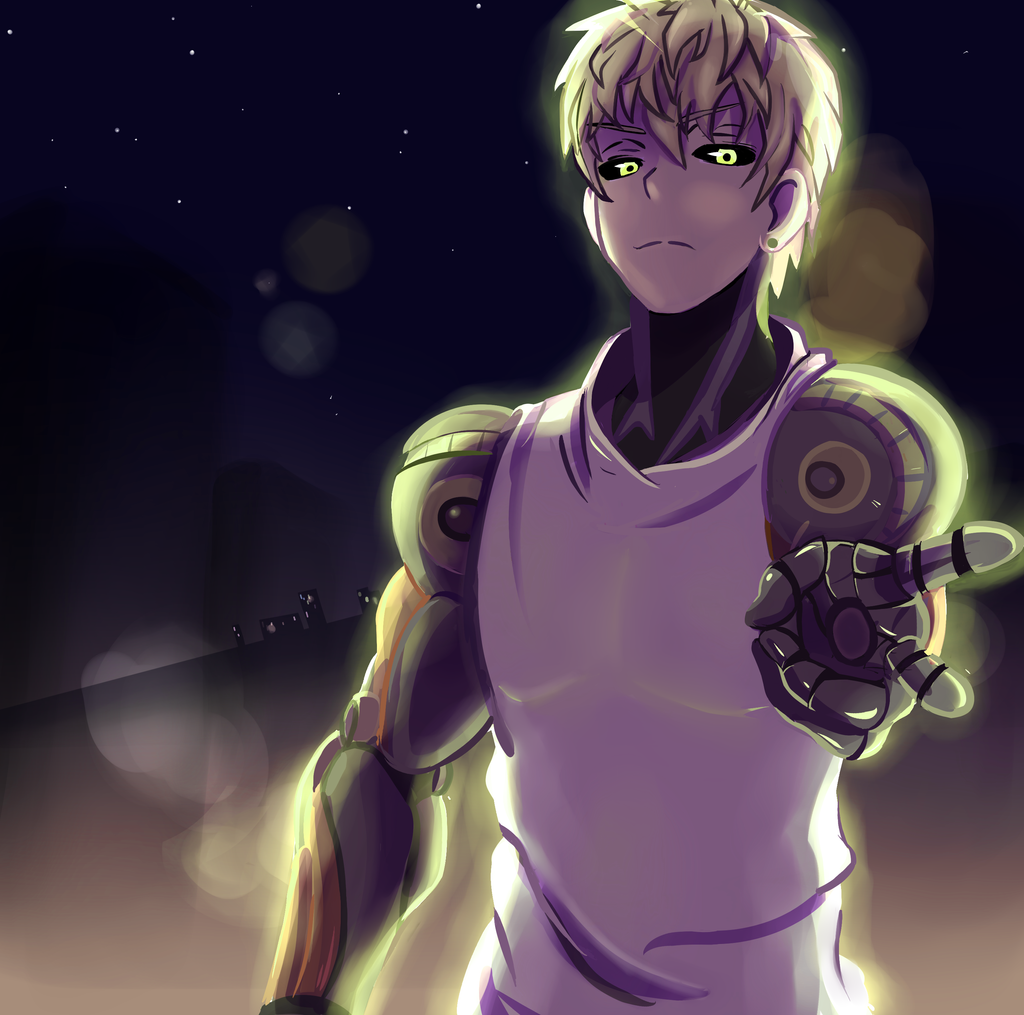 one punch man genos - photo #35