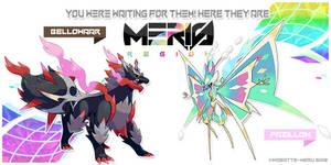 Meris Region Legendaries