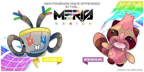 Meris Region Pokemon 21