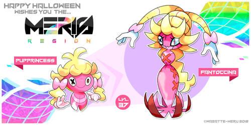Happy Halloween Meris Region Pokemon 22