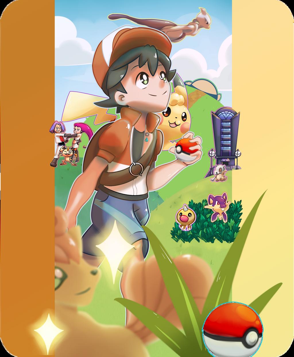 Fanart Pokemon Lets Go Pikachu