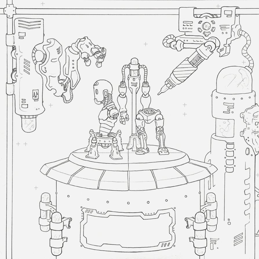 Character Design Studio : Character design studio by gx illustration on deviantart