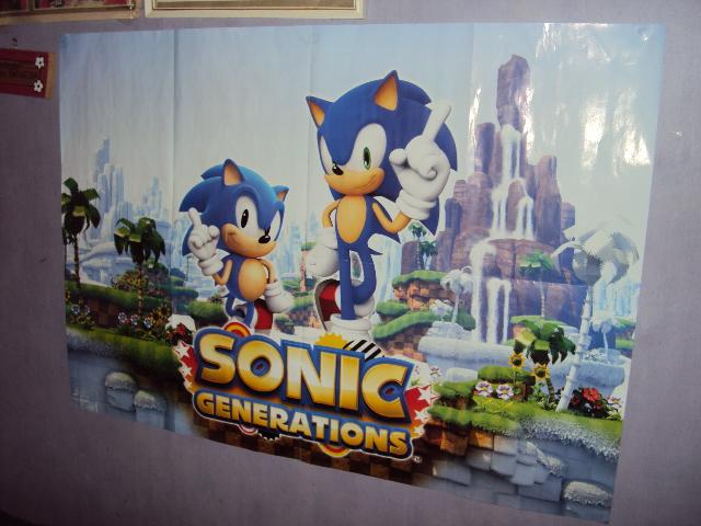 Sonic Generations Poster by RedDevilDazzy2007