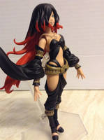 Gravity Rush 2 - Raven Figure by DazzyADeviant