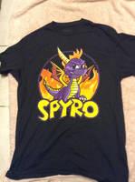 Spyro The Dragon - New T-Shirt by DazzyADeviant