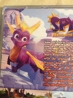 Spyro Reignited Trilogy Custom PS1 Case by DazzyADeviant