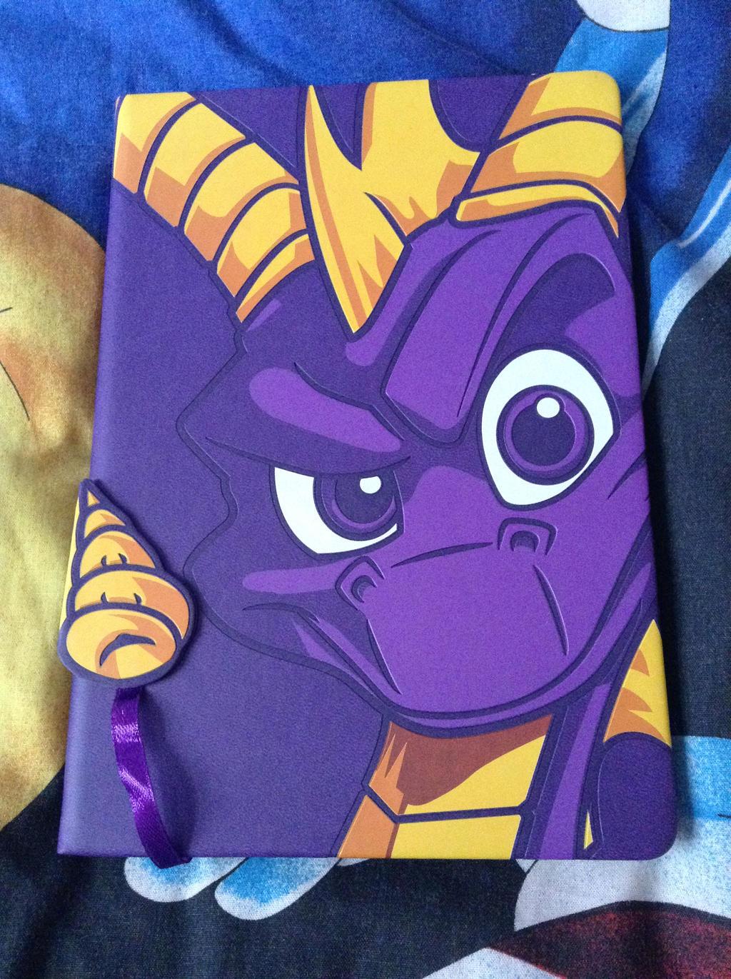 Spyro The Dragon Notebook by DazzyADeviant