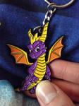 Spyro The Dragon Keyring