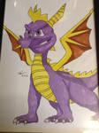 Spyro The Dragon Picture, Drawn By Conor Calvert
