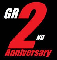 Gravity Rush 2 - 2nd Anniversary Logo by DazzyADeviant