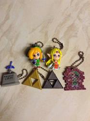Legend Of Zelda: A Link Between Worlds Figures by DazzyADeviant