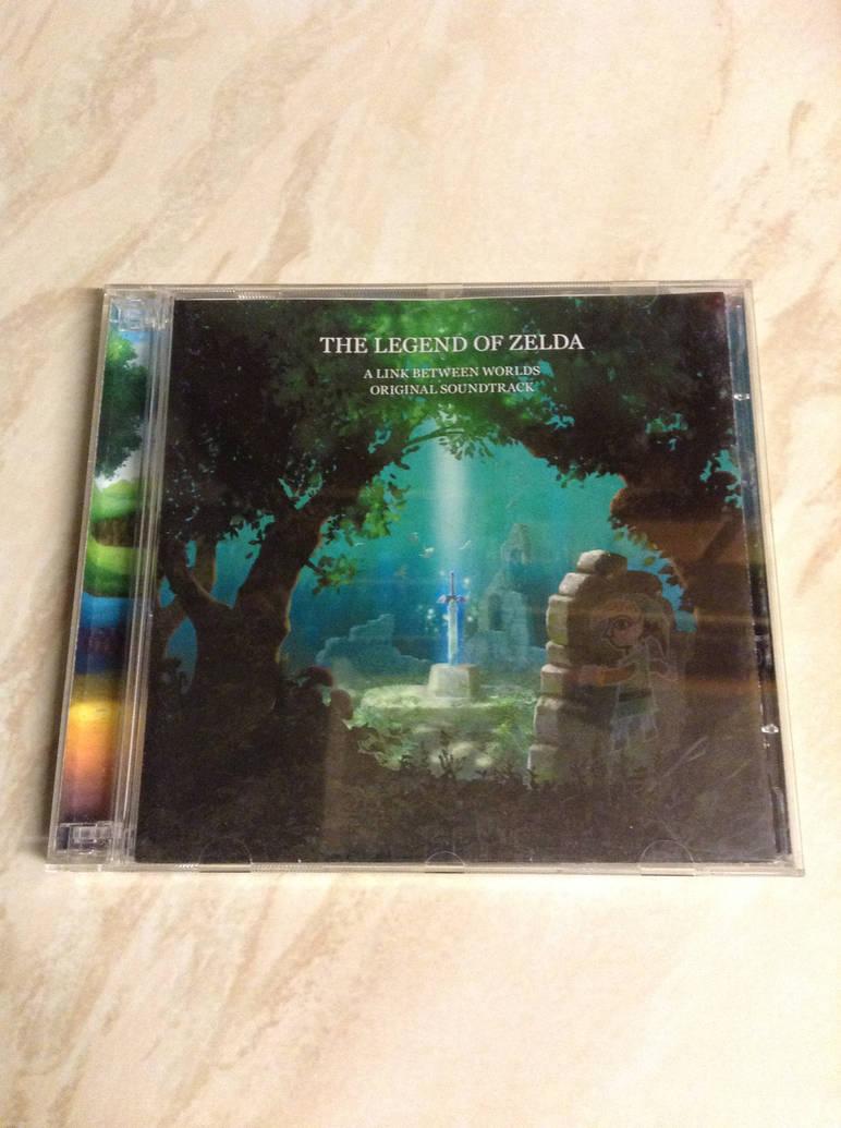 Legend Of Zelda: A Link Between Worlds CD by DazzyADeviant