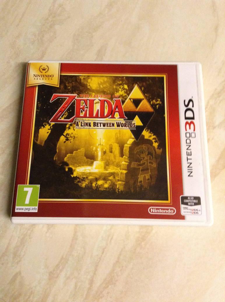 Legend Of Zelda: A Link Between Worlds 3DS Game by DazzyADeviant